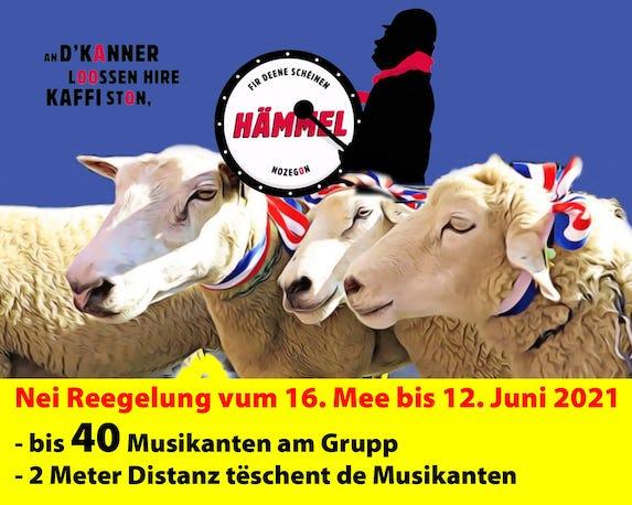 Banner Haemmelsmarsch 2021 05 16