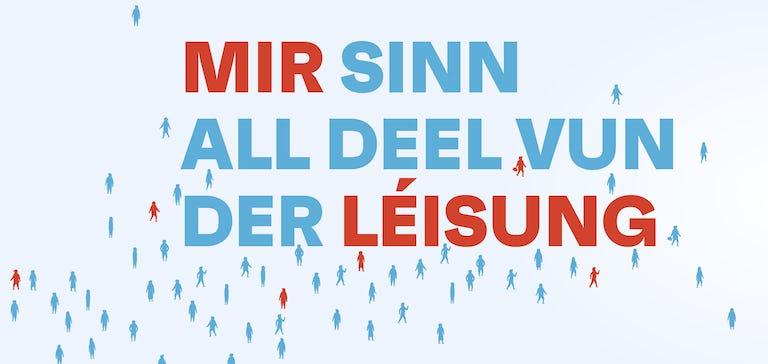 Banner Mir Sinn All Deel Vun Der Leisung