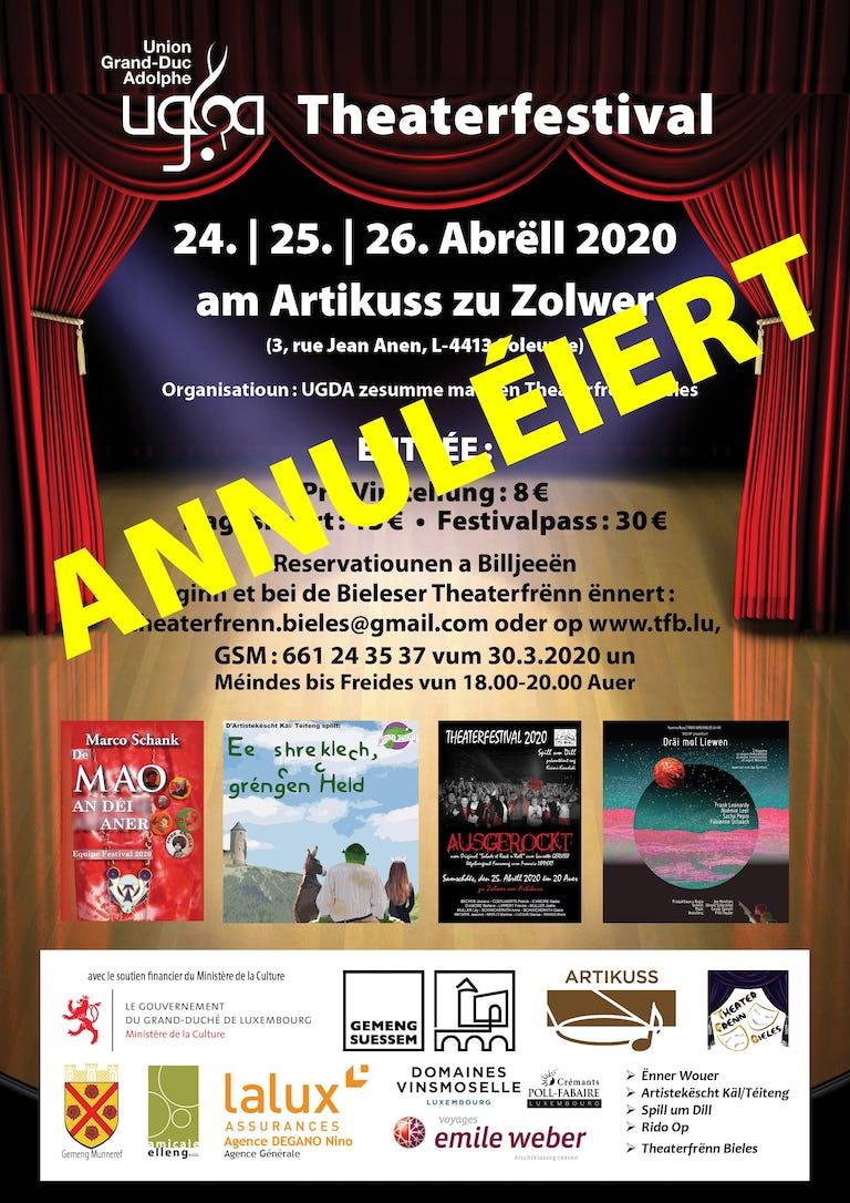 Theaterfestival Programme Annule